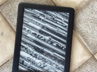 Kindle with a built in front light