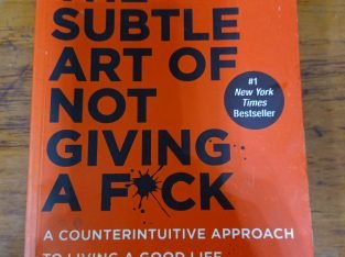 The Subtle Art of Not Giving a F*ck – Mark Manson